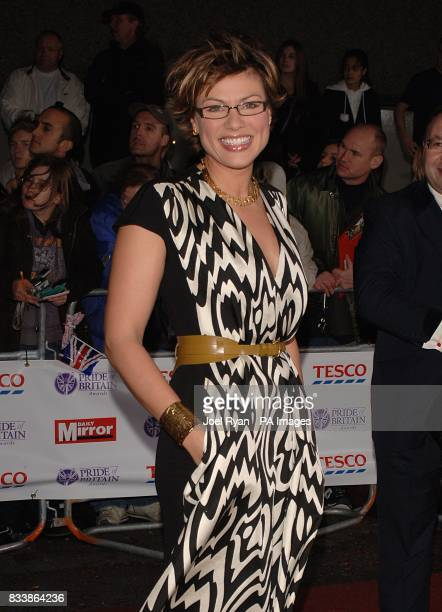 Kate Silverton arrives for the Pride of Britain Awards 2007 The London Studios Upper Ground London SE1