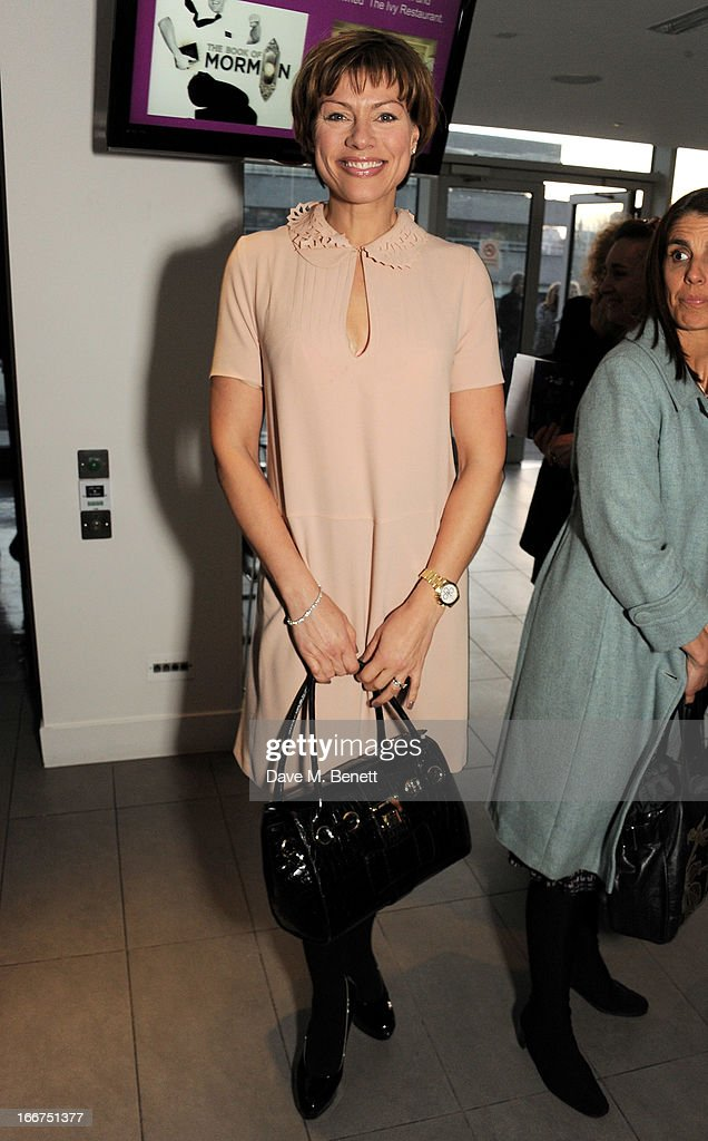 Kate Silverton attends a drink reception celebrating 'An Evening With Chickenshed', a cabaret performance in aid of inclusive theatre company Chickenshed, hosted by Jonathan Shalit at The London Television Centre on April 16, 2013 in London, England.