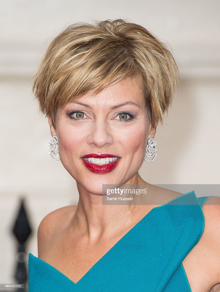 Kate Silverton attends the Tusk Trust Conservation Awards at The Royal Society on September 12, 2013 in London, England.