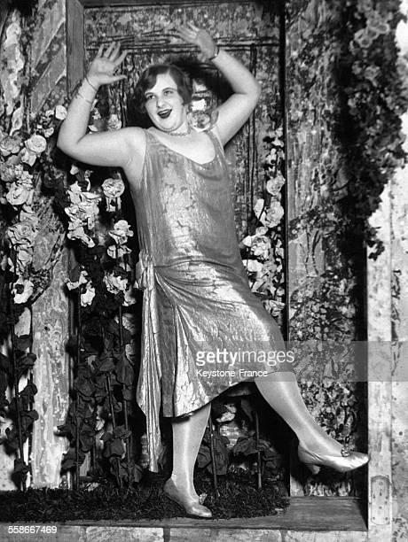 Kate Smith 19 ans pèse 100 kilos et est danseuse de charleston dans une revue américaine circa 1930 aux EtatsUnis