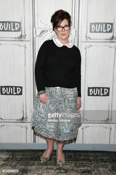 Kate Spade attends Build Series Presents Kate Spade and Andy Spade Discussing Their Latest Project Frances Valentine at Build Studio on April 28 2017...