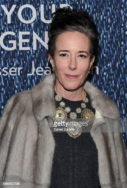Kate Spade attends the 2015 Basser Center For BRCA Benefit at Cipriani Wall Street on November 10 2015 in New York City