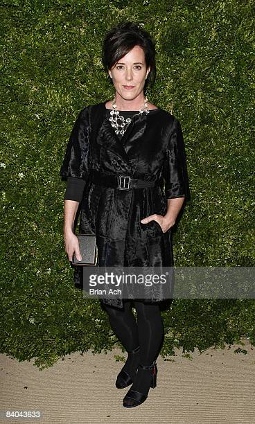 Kate Spade attends the 5th Anniversary of the CFDA/Vogue Fashion Fund at Skylight Studios on November 17 2008 in New York City