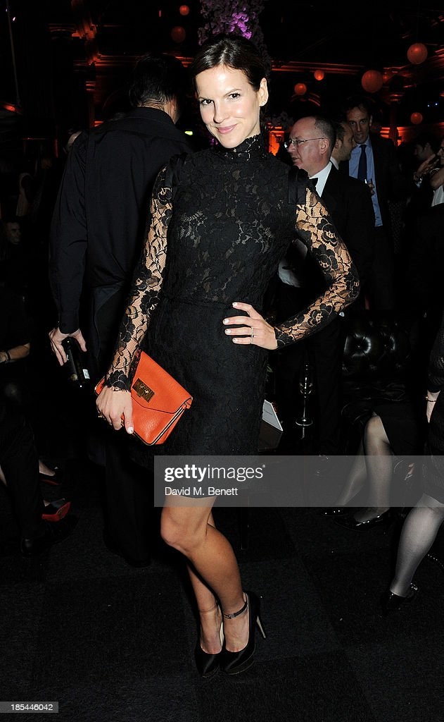 <a gi-track='captionPersonalityLinkClicked' href=/galleries/search?phrase=Kate+Sumner&family=editorial&specificpeople=592455 ng-click='$event.stopPropagation()'>Kate Sumner</a> attend an after party for the Closing Night Gala European Premiere of 'Saving Mr Banks' during the 57th BFI London Film Festival at The Old Billingsgate on October 20, 2013 in London, England.