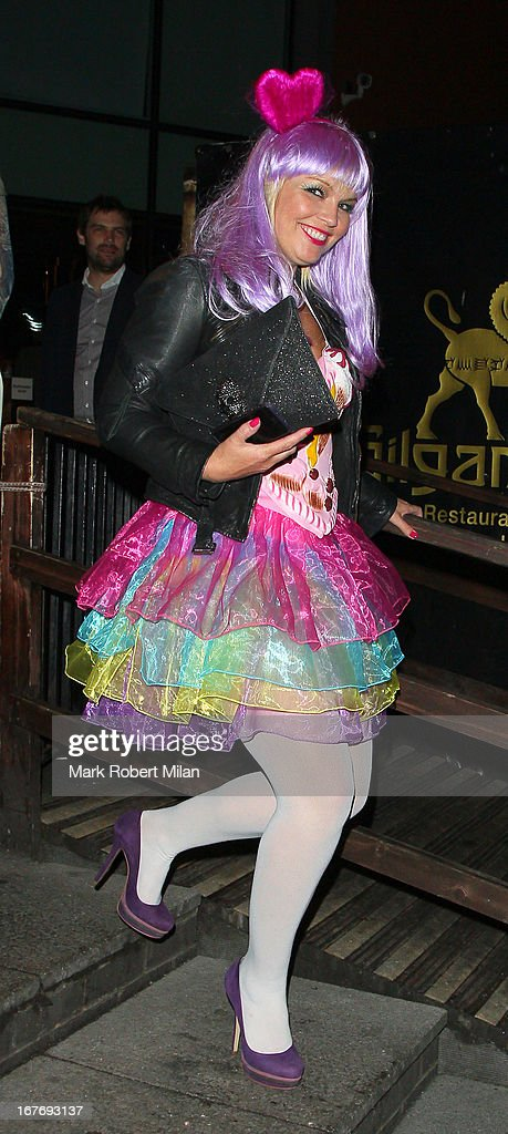 Kate Thornton at Gilgamesh on April 27, 2013 in London, England.