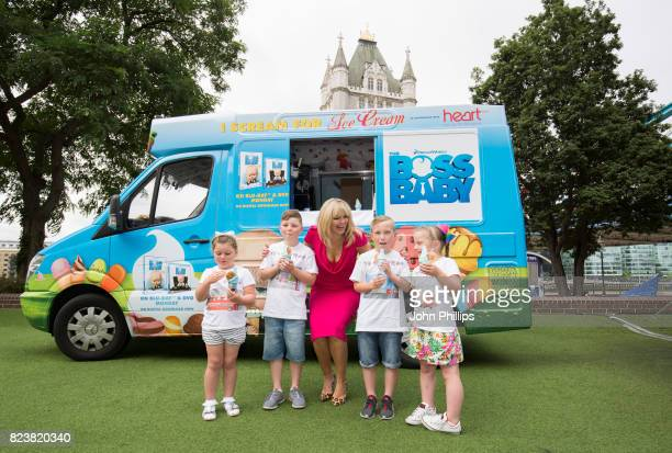 Kate Thornton launches 'Boss Baby' Summer Tour to mark the film's DVD release at The Tower Hotel on July 28 2017 in London England