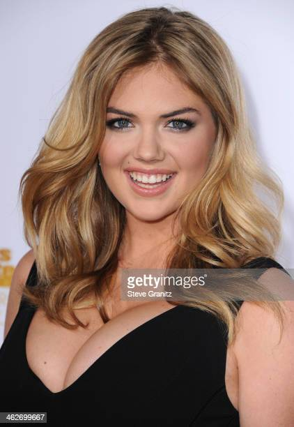 Kate Upton arrives at the NBC And Time Inc 50th Anniversary Celebration Of Sports Illustrated Swimsuit Issue Hosted By Heidi Klum at Dolby Theatre on...