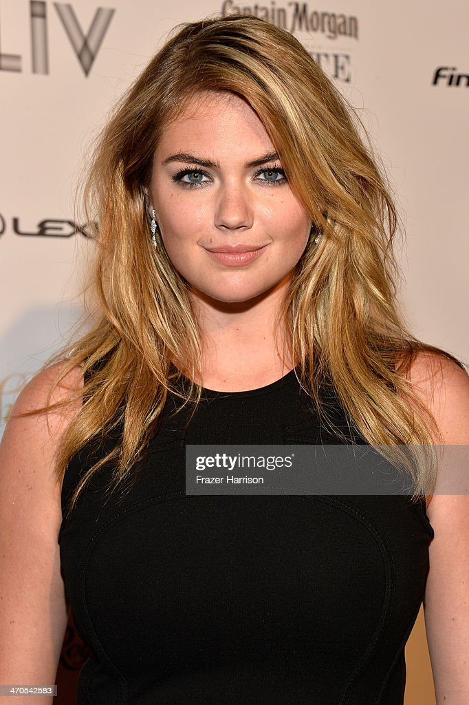 Kate Upton attends Club SI Swimsuit at LIV Nightclub hosted by Sports Illustrated at Fontainebleau Miami on February 19, 2014 in Miami Beach, Florida.