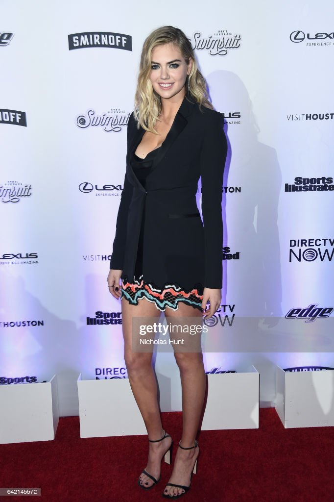 Kate Upton attends Sports Illustrated Swimsuit 2017 NYC launch event at Center415 Event Space on February 16, 2017 in New York City.