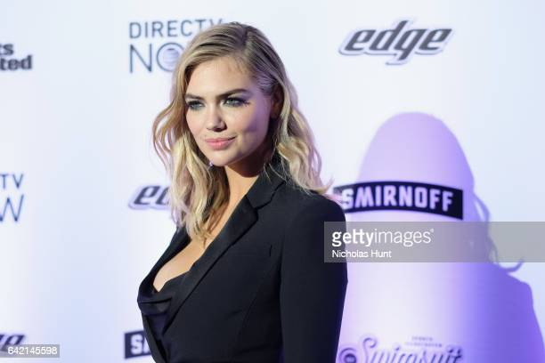 Kate Upton attends Sports Illustrated Swimsuit 2017 NYC launch event at Center415 Event Space on February 16 2017 in New York City