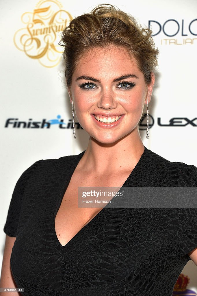 <a gi-track='captionPersonalityLinkClicked' href=/galleries/search?phrase=Kate+Upton&family=editorial&specificpeople=7488546 ng-click='$event.stopPropagation()'>Kate Upton</a> attends Sports Illustrated Swimsuit South Beach Soiree at The Gale Hote on February 20, 2014 in Miami, Florida.