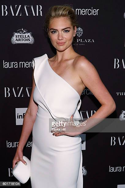Kate Upton attends the 2016 Harper ICONS Party at The Plaza Hotel on September 9 2016 in New York City