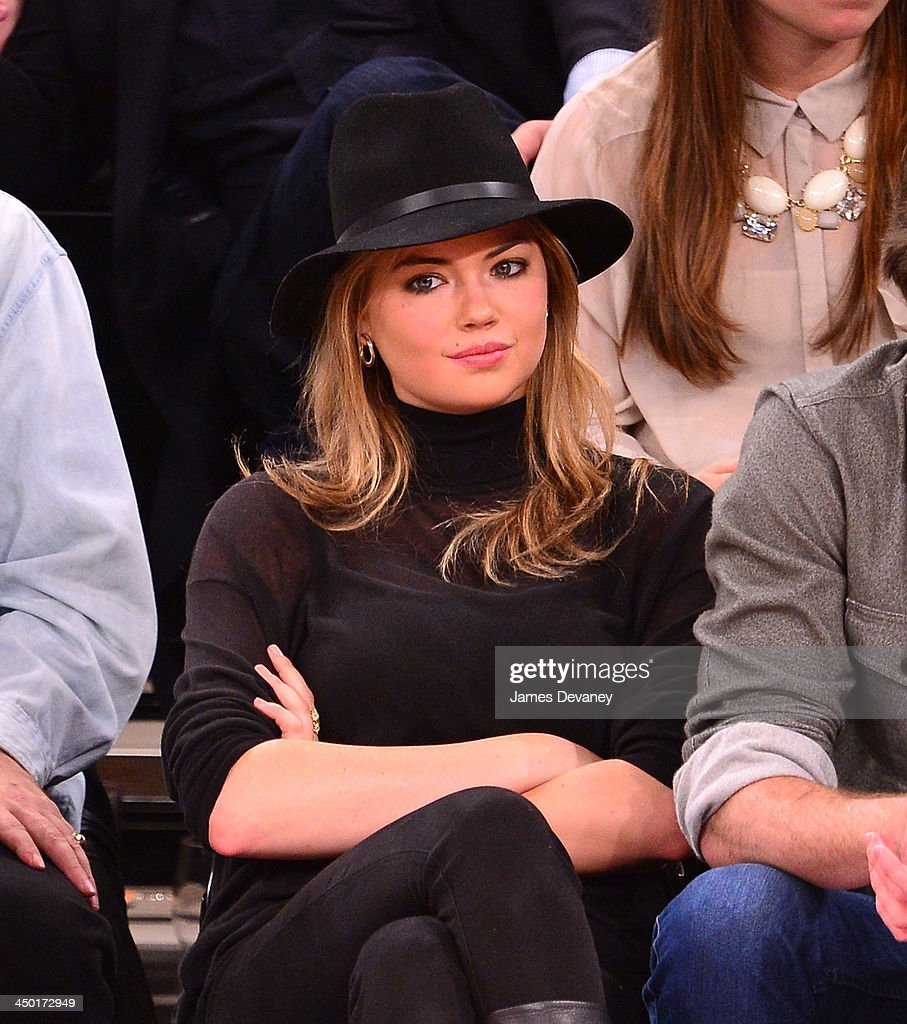<a gi-track='captionPersonalityLinkClicked' href=/galleries/search?phrase=Kate+Upton&family=editorial&specificpeople=7488546 ng-click='$event.stopPropagation()'>Kate Upton</a> attends the Atlanta Hawks vs New York Knicks game at Madison Square Garden on November 16, 2013 in New York City.