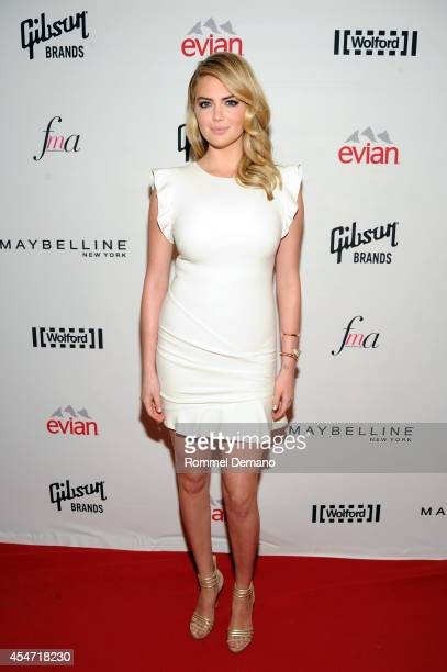 Kate Upton attends The Daily Front Row Second Annual Fashion Media Awards at Park Hyatt New York on September 5 2014 in New York City