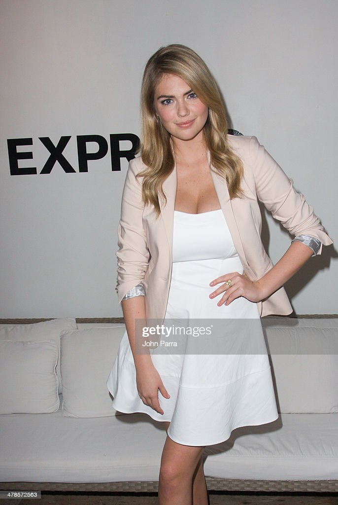 <a gi-track='captionPersonalityLinkClicked' href=/galleries/search?phrase=Kate+Upton&family=editorial&specificpeople=7488546 ng-click='$event.stopPropagation()'>Kate Upton</a> attends the EXPRESS South Beach Runway Show at The Raleigh Hotel on March 13, 2014 in Miami, Florida.