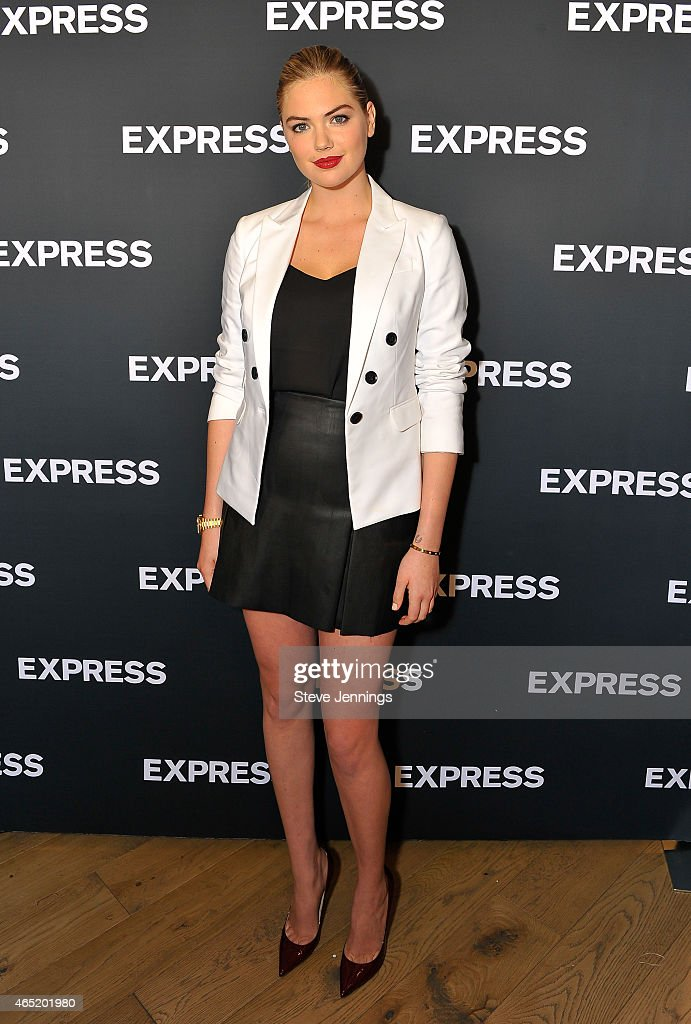 <a gi-track='captionPersonalityLinkClicked' href=/galleries/search?phrase=Kate+Upton&family=editorial&specificpeople=7488546 ng-click='$event.stopPropagation()'>Kate Upton</a> attends the EXPRESS Spring Fling Event at Union Square on March 3, 2015 in San Francisco, California.