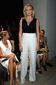 Kate Upton attends the Narciso Rodriguez Spring 2016 fashion show during New York Fashion Week at SIR Stage 37 on September 15 2015 in New York City