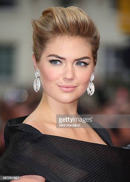 Kate Upton attends the UK Gala premiere of 'The Other Woman' at The Curzon Mayfair on April 2 2014 in London England