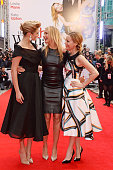 Kate Upton Cameron Diaz and Leslie Mann attend the UK Gala Premiere of 'The Other Woman' at The Curzon Mayfair on April 2 2014 in London England