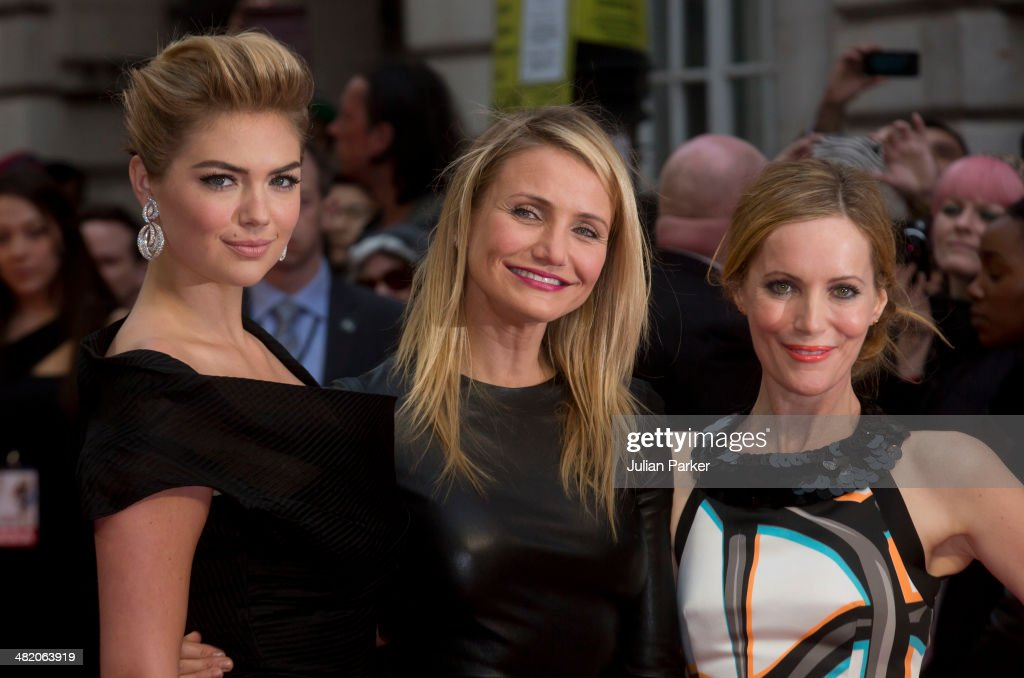 <a gi-track='captionPersonalityLinkClicked' href=/galleries/search?phrase=Kate+Upton&family=editorial&specificpeople=7488546 ng-click='$event.stopPropagation()'>Kate Upton</a>, <a gi-track='captionPersonalityLinkClicked' href=/galleries/search?phrase=Cameron+Diaz&family=editorial&specificpeople=201892 ng-click='$event.stopPropagation()'>Cameron Diaz</a> and <a gi-track='captionPersonalityLinkClicked' href=/galleries/search?phrase=Leslie+Mann&family=editorial&specificpeople=595973 ng-click='$event.stopPropagation()'>Leslie Mann</a> attend the UK Gala premiere of 'The Other Woman' at The Curzon Mayfair on April 2, 2014 in London, England.