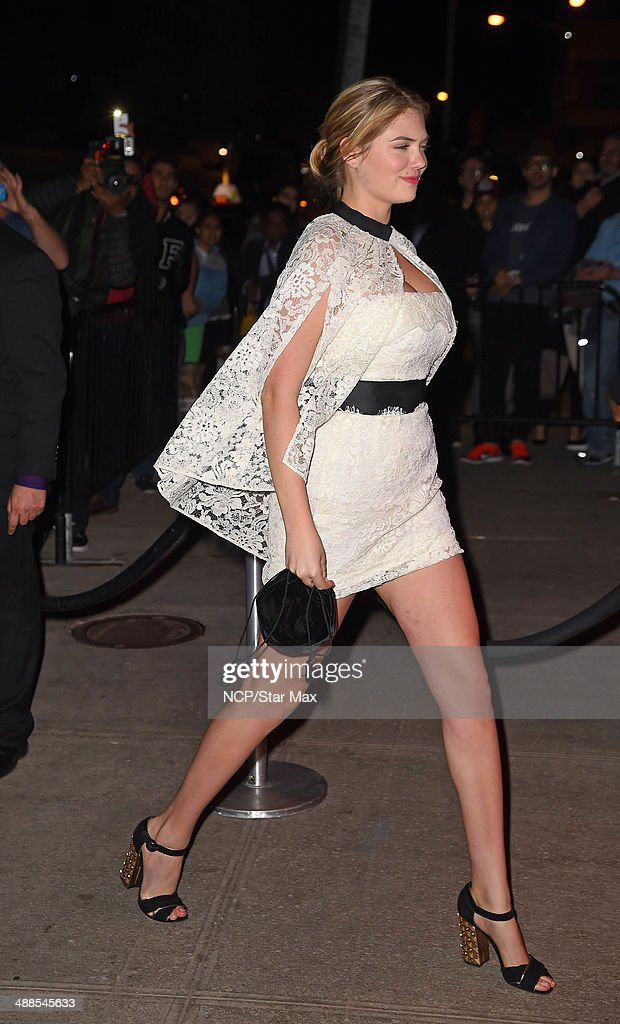Kate Upton is seen at the after-party for The Costume Institute Benefit Gala on May 5, 2014 in New York City.