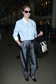 Kate Upton seen at LAX on December 18 2014 in Los Angeles California