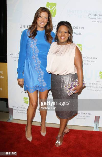 Kate Walsh and Chandra Wilson arrive at United Friends of the Children Benefit held at The Beverly Hilton Hotel on May 21 2012 in Beverly Hills...