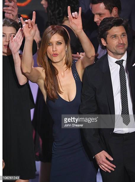 Kate Walsh and Patrick Dempsey of 'Grey's Anatomy' winner Favorite TV Drama