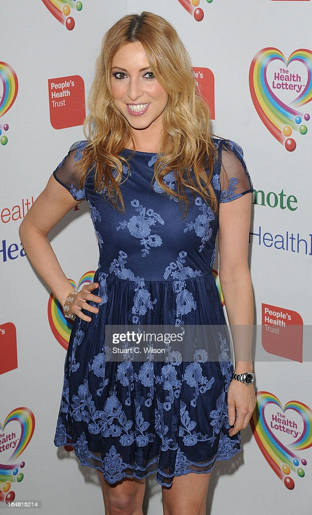 <a gi-track='captionPersonalityLinkClicked' href=/galleries/search?phrase=Kate+Walsh+-+Presenter&family=editorial&specificpeople=6514489 ng-click='$event.stopPropagation()'>Kate Walsh</a> attends a fundraising event in aid of The Health Lottery hosted by Simon Cowell at Claridges Hotel on March 28, 2013 in London, England.