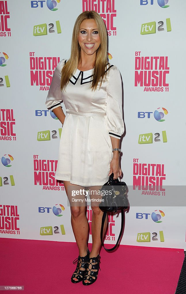 Kate Walsh attends BT Digital Music Awards at The Roundhouse on September 29, 2011 in London, England.