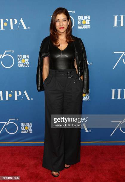Kate Walsh attends Hollywood Foreign Press Association Hosts Television Game Changers Panel Discussion at The Paley Center for Media on October 26...