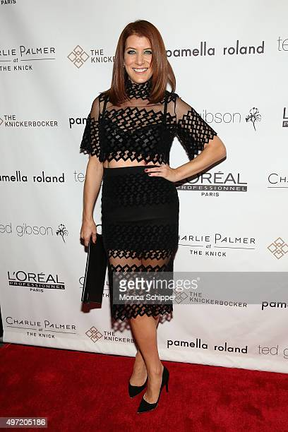 Kate Walsh attends Ted Gibson's 50th Birthday Party on November 14 2015 in New York City