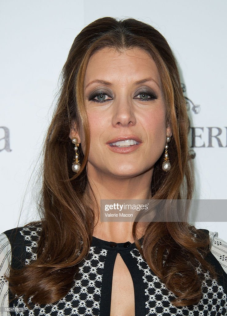 Kate Walsh attends the 6th Annual Women In Film Pre-Oscar Party hosted by Perrier Jouet, MAC Cosmetics and MaxMara at Fig & Olive Melrose Place on February 22, 2013 in West Hollywood, California.