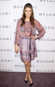 Kate Walsh attends the BVLGARI celebration of Elizabeth Taylor's collection of BVLGARI jewelry at Bvlgari Beverly Hills on February 19 2013 in...