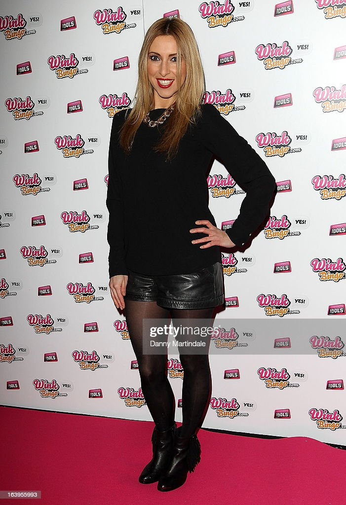 Kate Walsh attends the Wink Bingo Celebrity Female Take Over on March 18, 2013 in London, England.