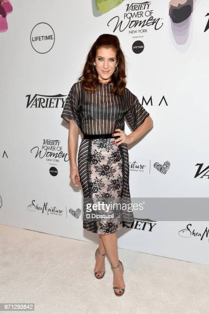 Kate Walsh attends Variety's Power of Women New York at Cipriani Midtown on April 21 2017 in New York City