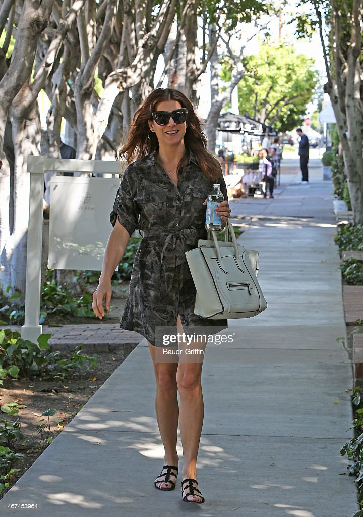 Kate Walsh is seen on March 24 2015 in Los Angeles California