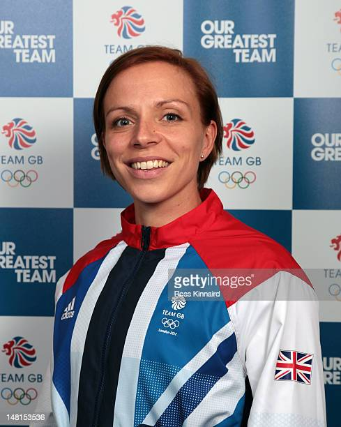 Kate Walsh of Team GB Hockey pictured during the Team GB kitting out event at Loughborough University on July 11 2012 in Loughborough England