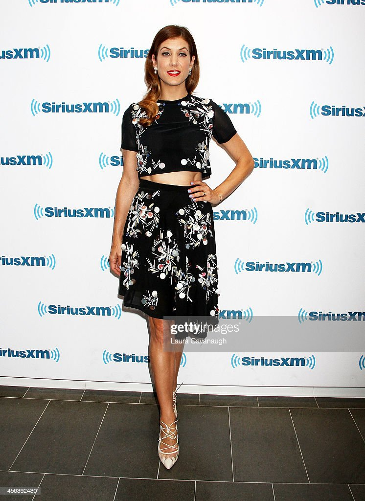 Kate Walsh visits SiriusXM Studios on September 30, 2014 in New York City.
