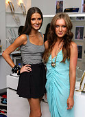 Kate Waterhouse and Holly Baxter attend the opening of the Trilby Phoenix jewellery and accessories store at Oxford Street on March 9 2010 in Sydney...