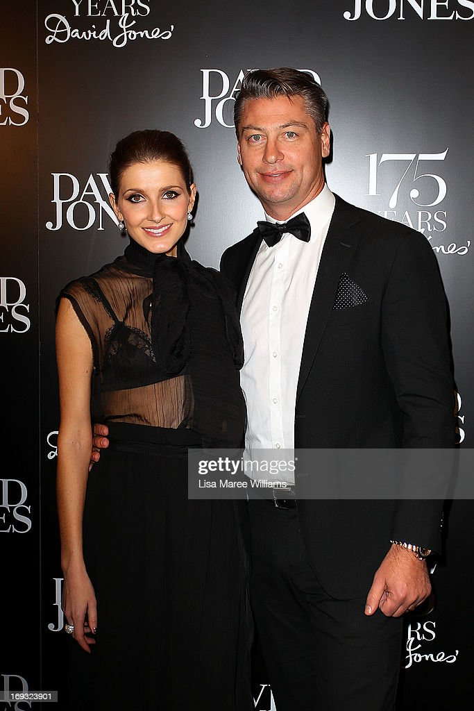 Kate Waterhouse and Luke Ricketson attend the David Jones 175 year celebration at David Jones on May 23, 2013 in Sydney, Australia.