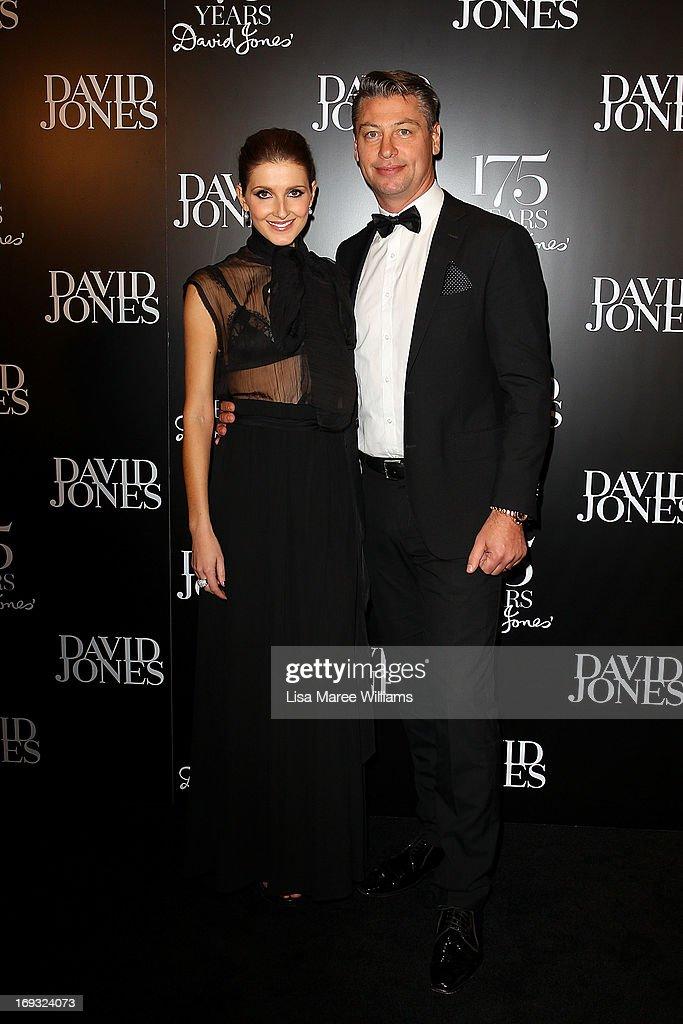 Kate Waterhouse and Luke Ricketson attend the David Jones 175 year celebration at David Jones on May 23, 2013 in Sydney, Australia.