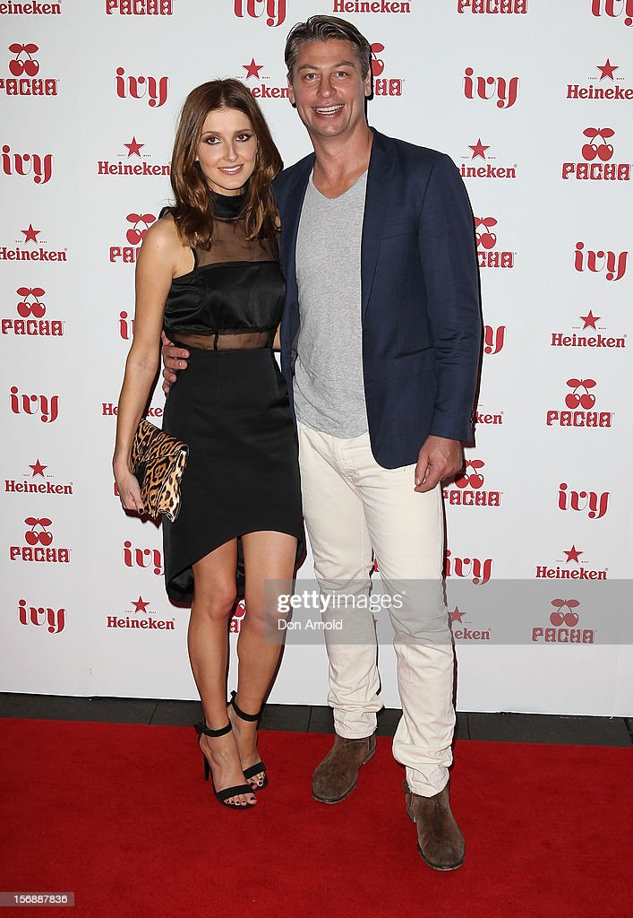 Kate Waterhouse and Luke Ricketson pose at the Pacha Launch at the Ivy on November 24, 2012 in Sydney, Australia.