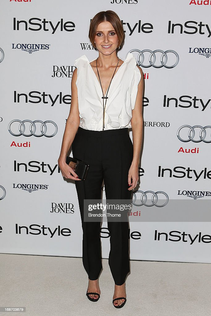 Kate Waterhouse arrives at the 2013 Instyle and Audi Women of Style Awards at Carriageworks on May 14, 2013 in Sydney, Australia.