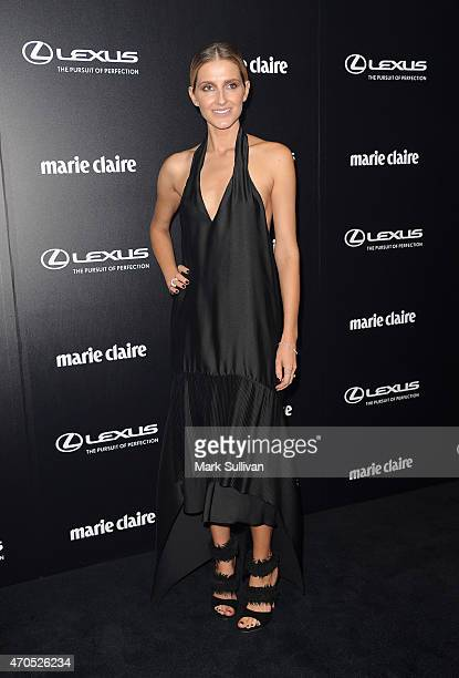Kate Waterhouse arrives at the 2015 Prix de Marie Claire Awards at Fox Studios on April 21 2015 in Sydney Australia