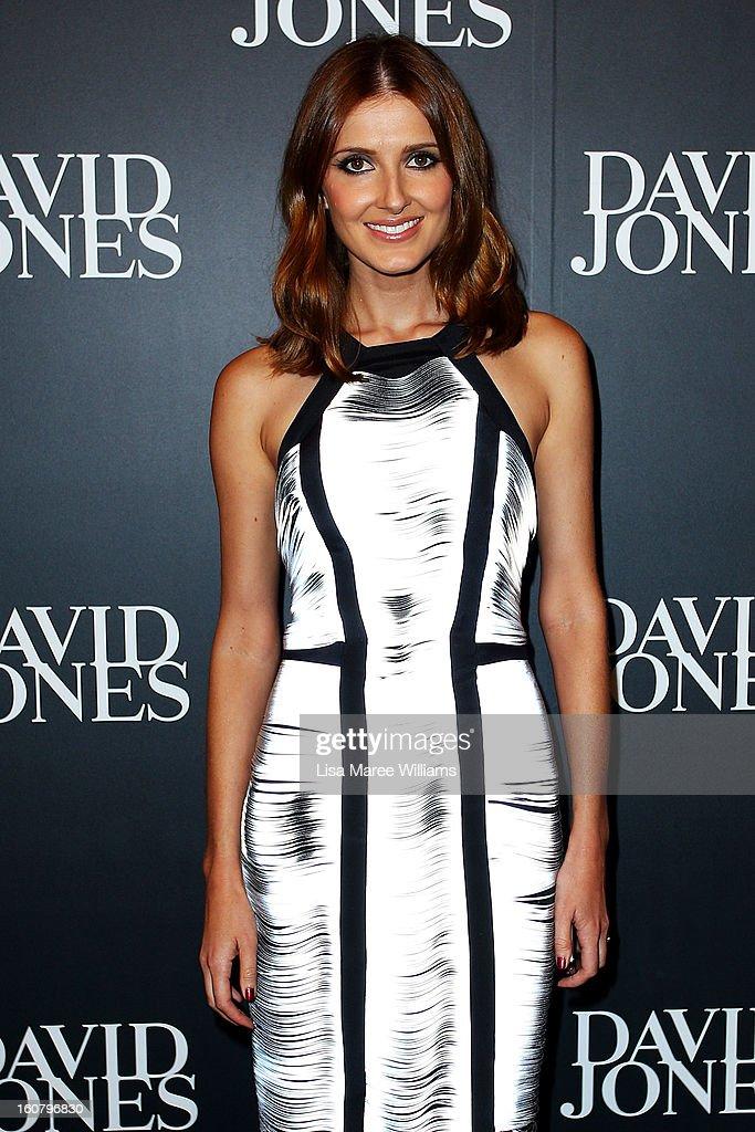 Kate Waterhouse arrives at the David Jones A/W 2013 Season Launch at David Jones Castlereagh Street on February 6, 2013 in Sydney, Australia.