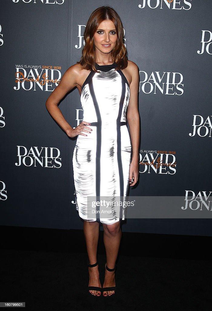 Kate Waterhouse arrives for the David Jones A/W 2013 Season Launch at David Jones Castlereagh Street on February 6, 2013 in Sydney, Australia.
