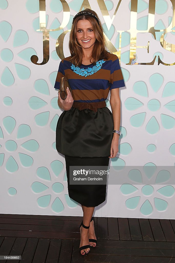 Kate Waterhouse attends Caulfield Cup Day at Caulfield Racecourse on October 20, 2012 in Melbourne, Australia.