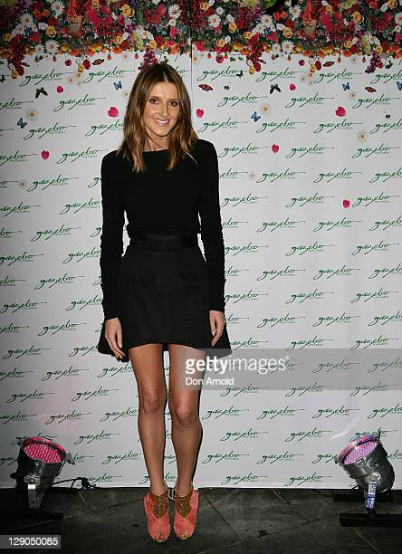 Kate Waterhouse attends Gazebo Wine Garden's fifth birthday celebration on at Gazebo Wine Garden on October 12 2011 in Sydney Australia