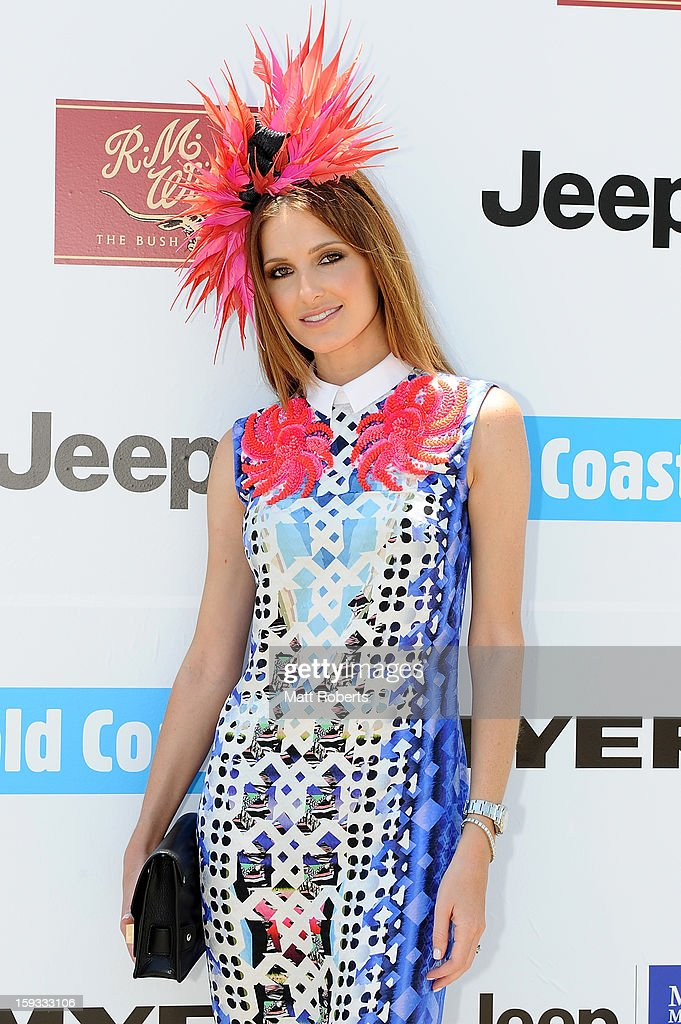 Kate Waterhouse attends Magic Millions Raceday at Gold Coast Turf Club on January 12, 2013 on the Gold Coast, Australia.